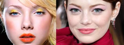 Modelo de maquiagem Candy Colors  (Foto:Divulgação).