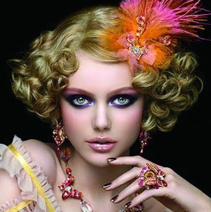 Os penteados para o carnaval 2013 deixarão as foliãs ainda mais charmosas (Foto: Divulgação)