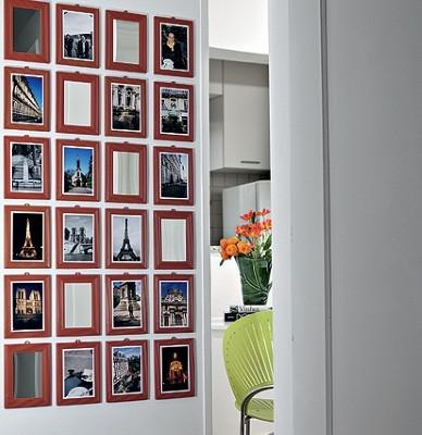 Tipo de decoração com fotos (Foto:Divulgação).