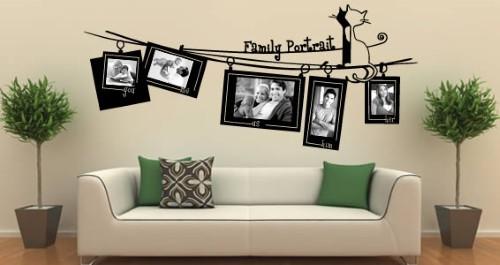 Como fazer um mural com fotos para sala  (Foto:Divulgação).