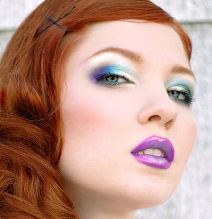 Dica de olho azul e lilás para noite (Foto:Divulgação).