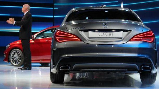 Mercedes Classe CLA 2013 (Foto:Terra/divulgação)