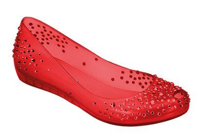 Os Calçados Melissa coleção 2013 estão ainda mais encantadores e diferenciados (Foto: Divulgação)