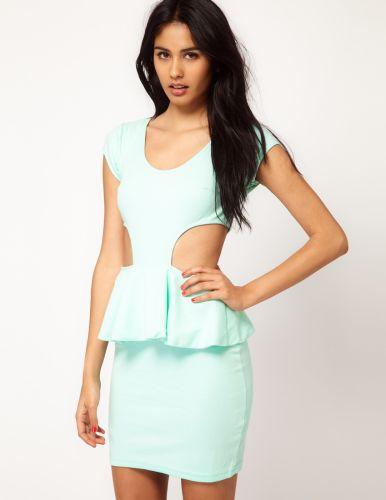 Os modelos de vestidos peplum 2013 estão ultradiferenciados e inovadores (Foto: Divulgação)