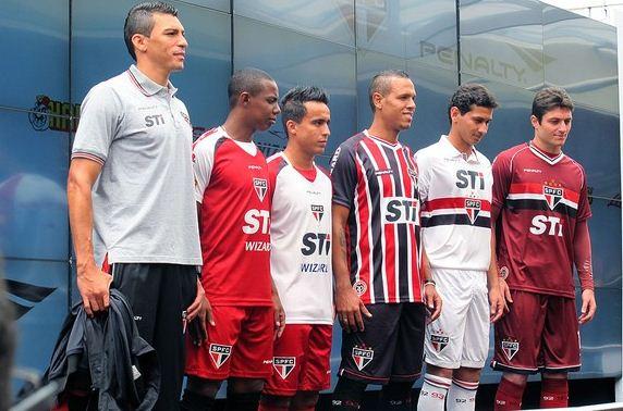 Novo uniforme São Paulo (Foto G1/divulgação)
