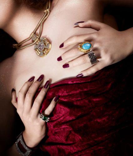 A unha emborrachada é o novo hit para a manicure (Foto: Divulgação)