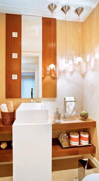 Dicas de papel de parede para banheiro  (Foto:Divulgação).