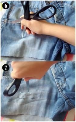 Passo a passo shorts (Foto:divulgação).