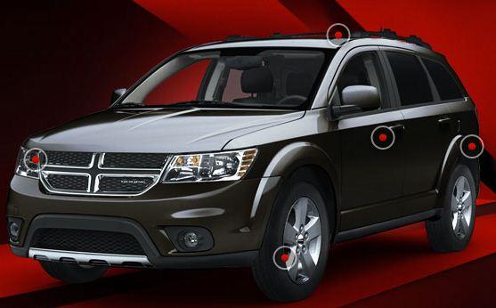 Journey STX (Foto: Dodge Brasil/divulgação)