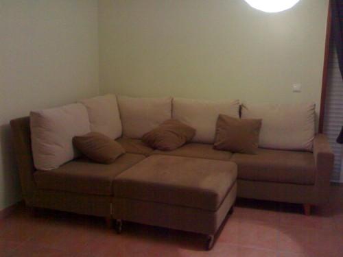Sofá de módulos com chaise (Foto:Divulgação)