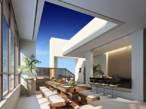 Decoração sofisticada para terraço (Foto:Divulgação).