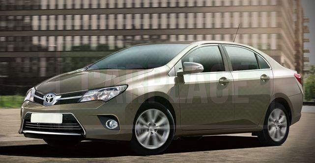 Toyota Corolla previsto (Foto: Carplace divulgação)