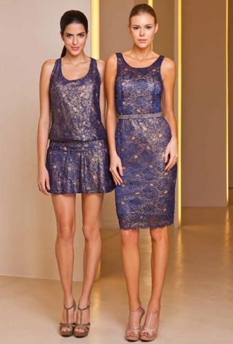 Os modelos de vestidos de renda verão 2013 estão ainda mais femininos e diferenciados (Foto: Divulgação)