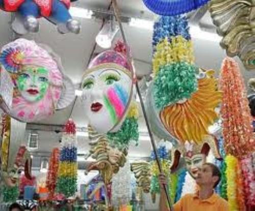 Decoração festiva para lojas (Foto:Divulgação)
