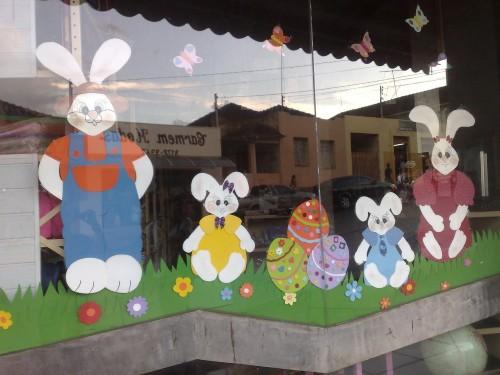 Como decorar vitrines para páscoa (Foto:Divulgação).