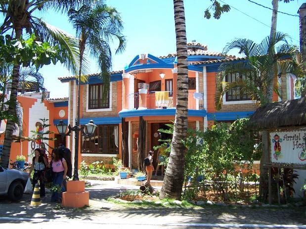 Arraial dAjuda Hostel - BA. (Foto: Divulgação).
