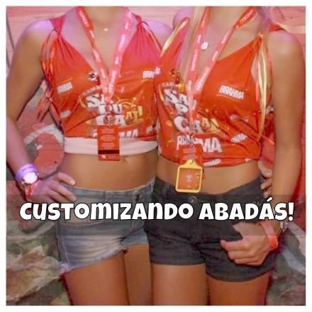 Modelos de abadás (Foto:Divulgação)