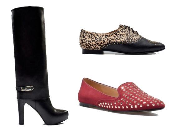 Os calçados da moda inverno 2013 estão sofisticadíssimos (Foto: Divulgação)