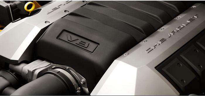 Motor Camaro (Foto: Chevrolet/divulgação)