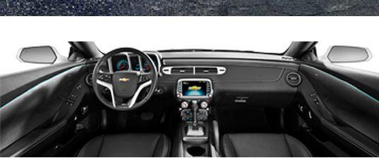 Interior Camaro (Foto: Chevrolet/divulgação)