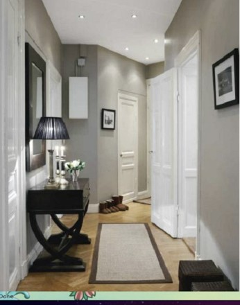 decora o para corredores de casa e apartamento