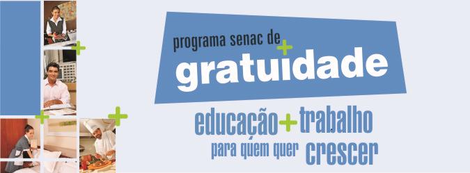 Cursos técnicos gratuitos Senac Guaxupé 2013