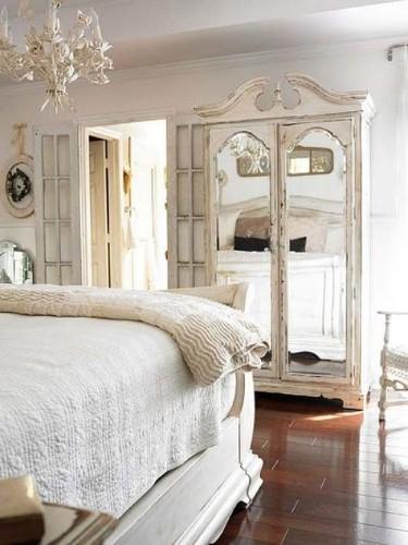 Decora o de interiores estilo shabby chic - Dormitorios vintage chic ...