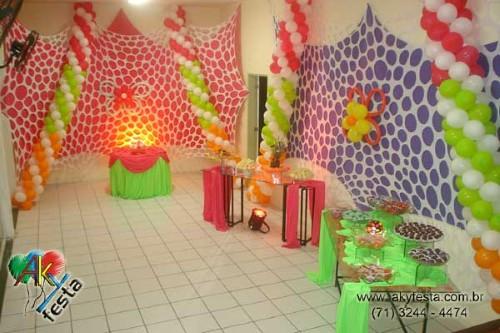 Decoração de festa de carnaval (Foto:Divulgação)