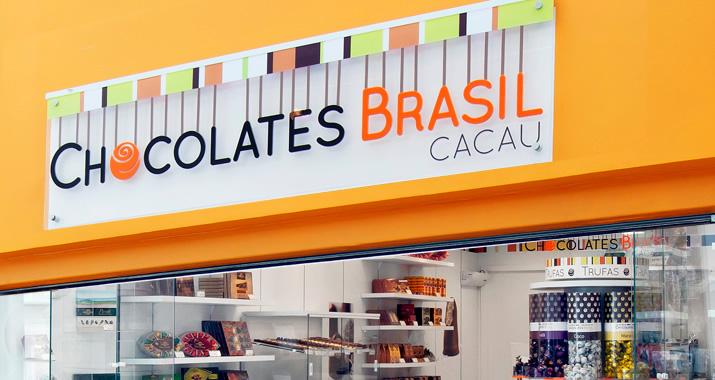 Franquias de chocolates - chocolates brasil cacau