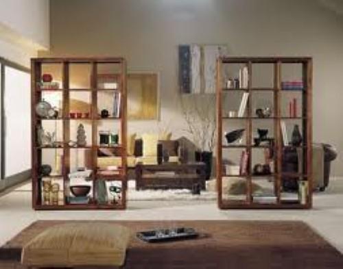 Dicas para separar ambientes em casa - Estanterias para separar ambientes ...