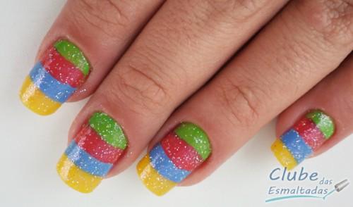 Desenhos de unhas para carnaval (Foto:Divulgação)