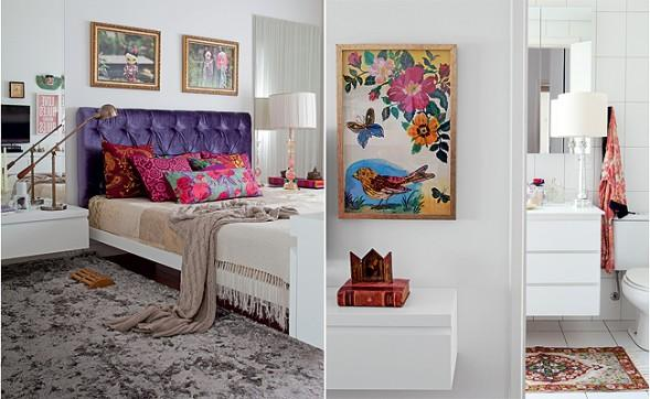 Invista em quadros para decorar. (Foto: Decoração).