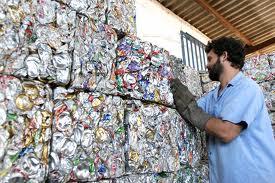 A reciclagem de materiais pode ser muito rentável. (Foto: Divulgação).