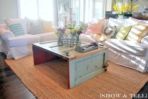 Decora o de interiores estilo shabby chic - Muebles de derribo ...