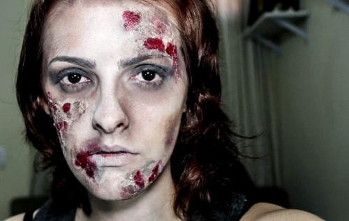 Como fazer maquiagem de zumbi (Foto: Divulgação).