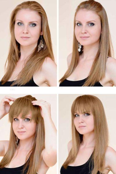 O aplique de franja é ótima opção para quem quer um visual diferenciado, mas sem cortar os cabelos (Foto: Divulgação)