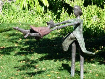 Esculturas para decoração de jardim  (Foto:Divulgação)