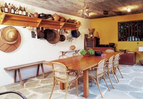 Móveis rústico cozinha (Foto:Divulgação)