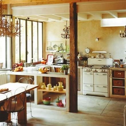 Decoração antiga na cozinha  (Foto:Divulgação)