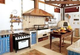 Decora o caipira para cozinha - Cocina rustica barata ...