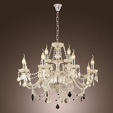 Lustres podem compor uma decoração muito sofisticada. (Foto: Divulgação).