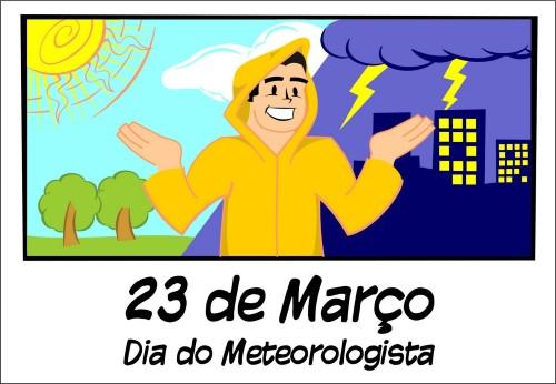Mensagem para dia do meteorologista (Foto:Divulgação)