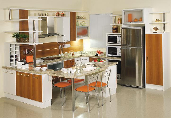 Dicas para escolher as cores dos móveis planejados. (Foto: Divulgação).