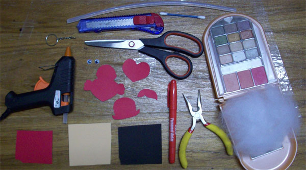 Materiais. (www.comofazerascoisas.com.br).