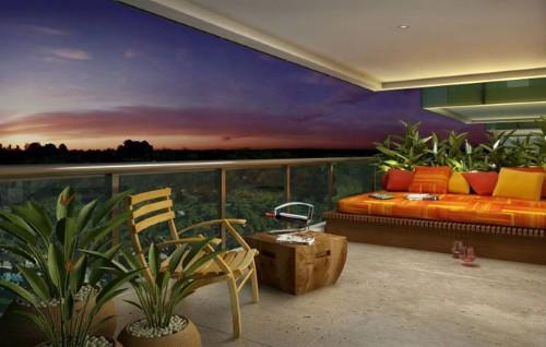 Jardim para apartamento (Foto:Divulgação)