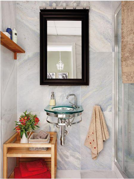 Banheiro também pode ser bem decorado (Foto: Construção Shopping/divulgação)