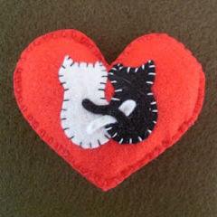 Moldes De Mickey >> Ideias de artesanato em feltro para o Dia dos Namorados