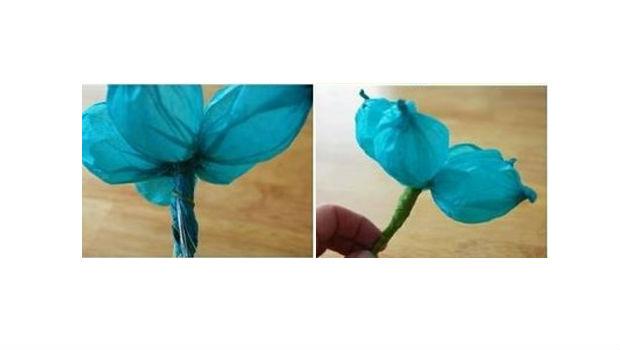 Flor criativa para decoração passo 3