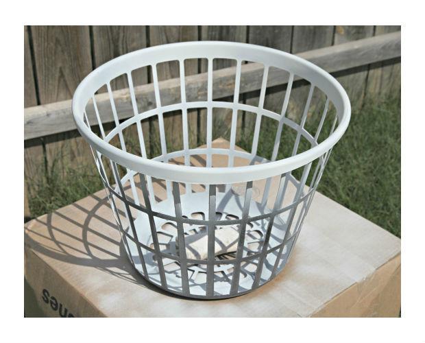 Como personalizar cesta organizadora de plástico passo 2