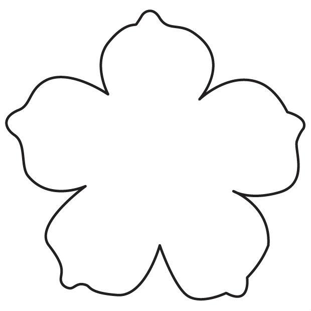 Шаблоны цветочек для вырезания из бумаги распечатать, удачу экзамене картинка